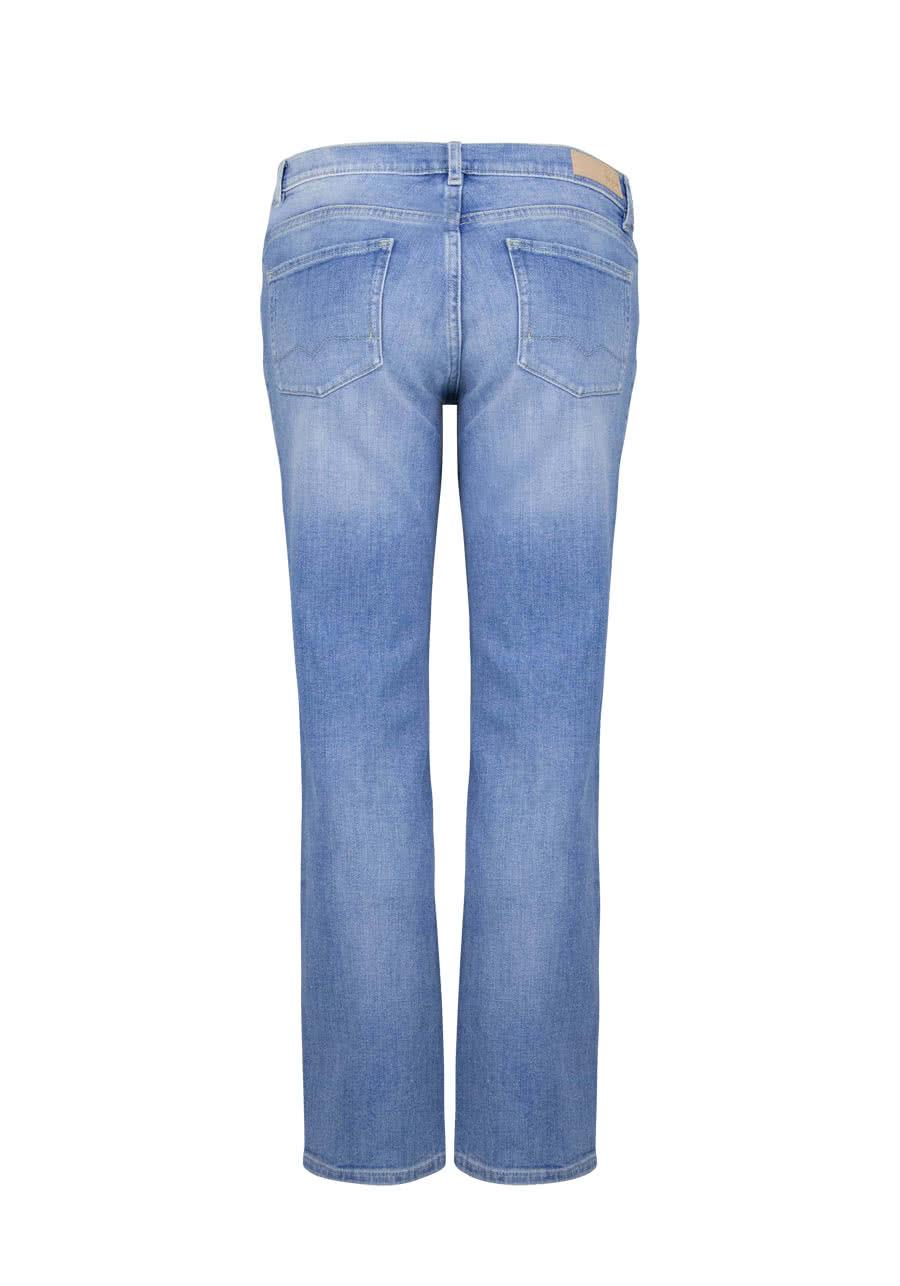 Straight Jeans TOLEDO Used Destroy Ziernähte hellblau HUGO BOSS RqSAH